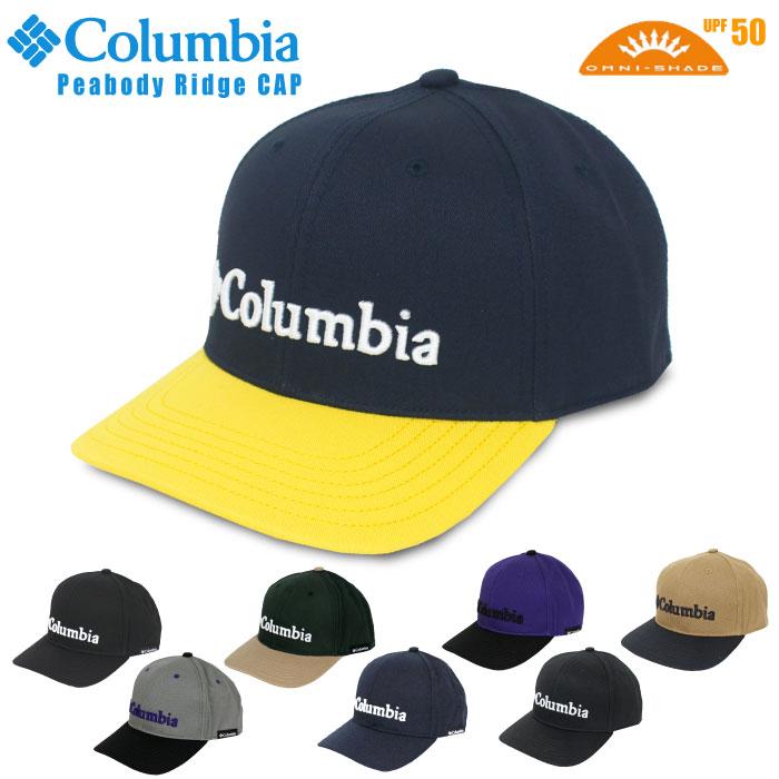 期間限定ポイント5倍 SALE 10%OFF 20201秋冬新色 Columbia コロンビア 代引き不可 ピーバディリッジ キャップ Peabody アウトドア ピーボディリッジ Ridge PU5522 お買い得 帽子 Cap レジャー