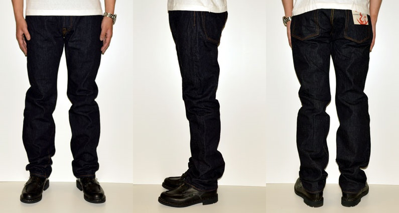 "ETERNAL ""811"" replica 5 pocket jeans [middle straight] [Vee ounce] [pro-vertical omission discoloration]"