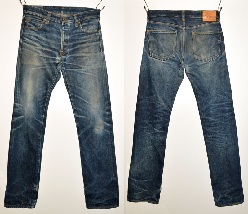 "JAPAN BLUE JEANS  ""JB0701"" 14,8oz cell bitch Thailand toss tray attendant Dell [tight straight] [Vee ounce] [pro-vertical omission discoloration]"
