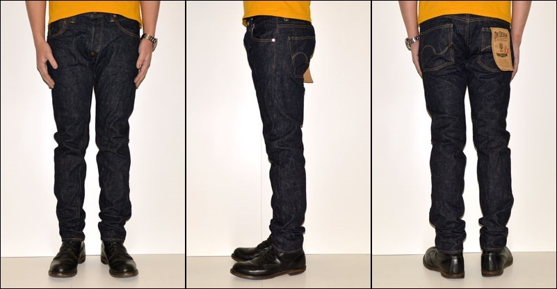 """Ogre denim ONI DENIM """"ONI-682XX"""" American tapered 16.5oz cell bitch denim [tight straight] [Vee ounce] [vintage system discoloration]"""