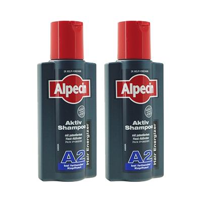 カフェインを配合したシャンプー 油性の頭皮の方用 海外通販 日時指定不可 アルペシン アクティブシャンプー Active Shampoo 250ml A2 2本Alpecin ブランド激安セール会場 A2:ヤマト国際便発送 最新
