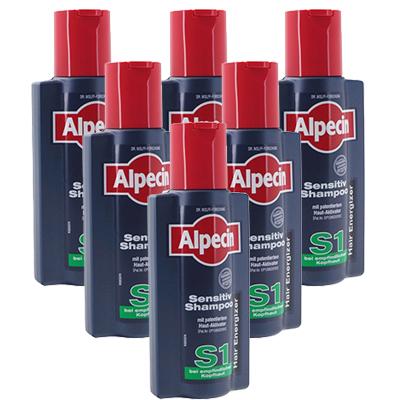 【海外直送:日時指定不可】アルペシン センシティブシャンプー(S1)250ml 6本Alpecin Sensitive Shampoo S1:ヤマト国際便発送