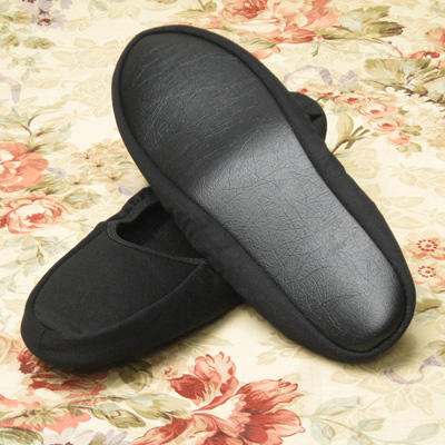 Until the mobile slippers black アイムヒアー 23-25 cm 2 size deployment nonstandard-size mail-friendly fs3gm