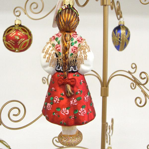beau-p: Christmas glass ornament Poland ethnic costumes ...