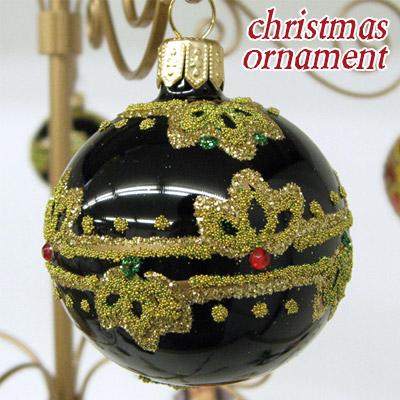 beau-p: Christmas ornament ball black Polish handmade Christmas decoration | Rakuten Global Market