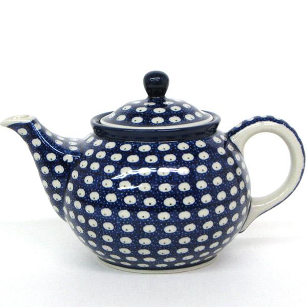 ポーランド陶器・食器 ドヌーブポットアルティスティッチナ社ティーポット、紅茶 ギフト プレゼントに ポーランド 食器 ポーリッシュ・ポタリー