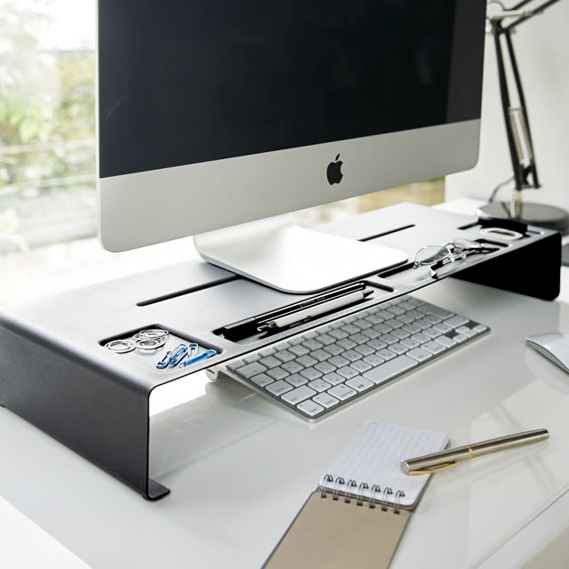 Monitor stands tower [all two colors] PC stand monitor holder personal computer rack | YAMAZAKI Yamasaki business