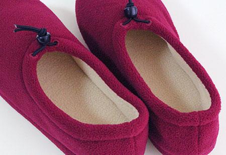 A12 M 大小調節器的羊毛或與拖鞋