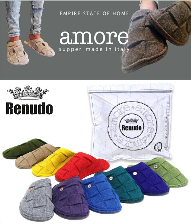 Renudo (스 누드) Amore (아모 레) 슬리퍼 2014 년가을과 겨울 모델 입 하 했습니다!