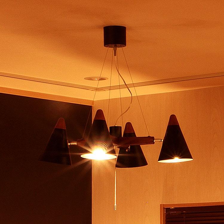 【送料無料・一部地域を除く】ペンダントライト 4灯 シスベック[SIXBEC] BBP-055 ボーベル  スポットライト シーリングライト 間接照明 led 北欧 寝室 おしゃれ 照明器具 電気 リビング用 居間用 食卓用 ダイニング用 天井照明 新生活