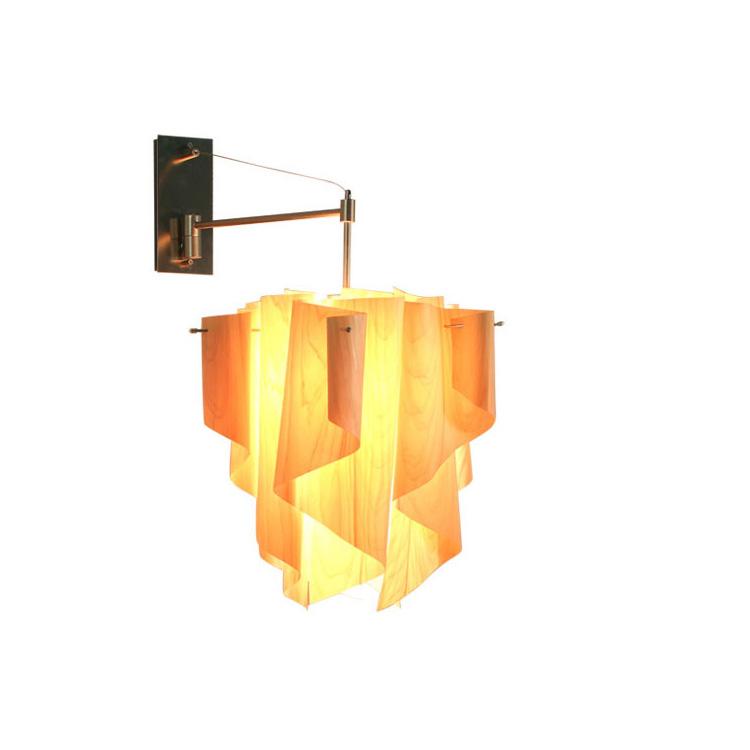 【送料無料・一部地域を除く】ブラケットランプ ウォールライト おしゃれ 北欧 インテリア 間接照明 アウロ ウッド 日本製 壁付け照明 ライト 国産 照明器具 かわいい 壁掛け 内玄関 階段 カフェ 新生活 テレワーク
