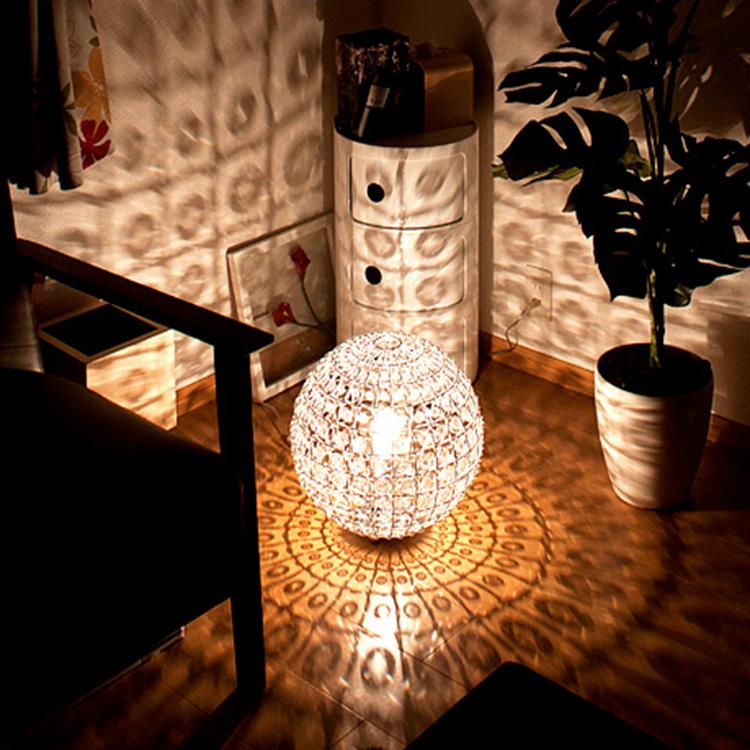 フロア ビジュ フロアランプ[Bigiu floor lamp]ディクラッセ[DI ClASSE]LF4250CL|間接照明 照明器具 スタンドライト フロアライト フロアスタンド テーブルランプ テーブルライト LED ランプ ガラス おしゃれ 寝室 ベッドサイド リビング用 居間用