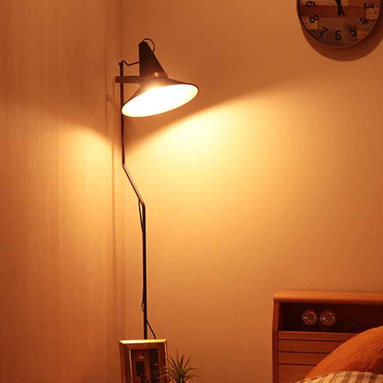 フロアランプ 1灯 スタジオD[STUDIO D] ディクラッセ[DI CLASSE]|フロアライト 照明 インテリア照明 レトロ かっこいい おしゃれ インテリア リビング用 居間用 スタンド 食卓用 ダイニング用 フロア ライト フロアスタンドライト 照明器具 スタンドライト テレワーク