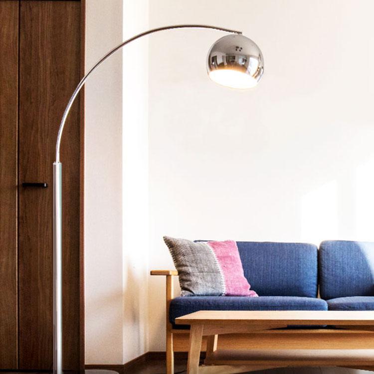 【送料無料】フロアランプ アーチ[Arch] KL-20018|フロアライト フロアスタンド 間接照明 寝室 LED対応 床 おしゃれ かわいい 北欧 インテリア ベッドルーム 居間用 フロア ライト リビング用 照明器具 スタンドライト