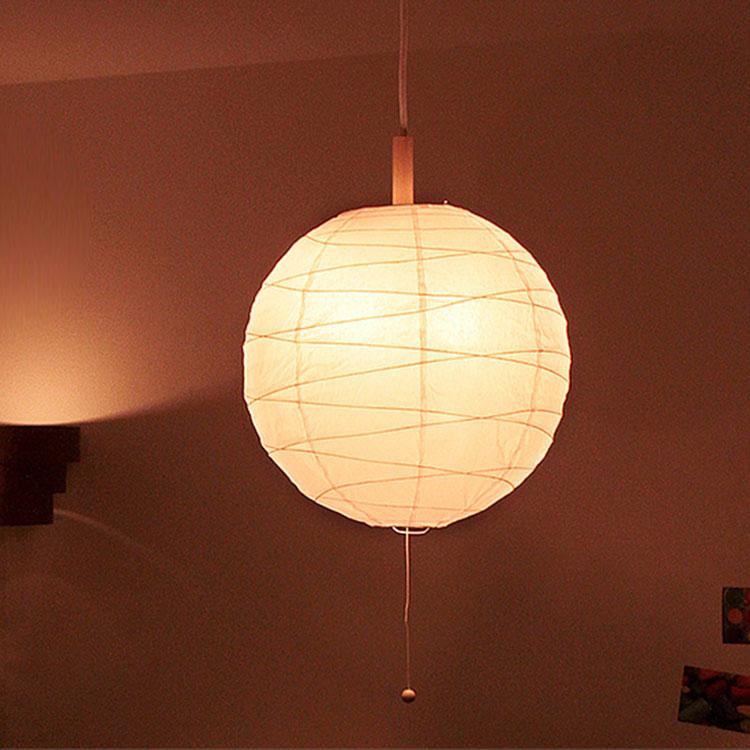 Anese Style Lighting Room Paper Lantern Cross ちょうちんくろす W300 Pendant Light 1 Ball Type Equipment