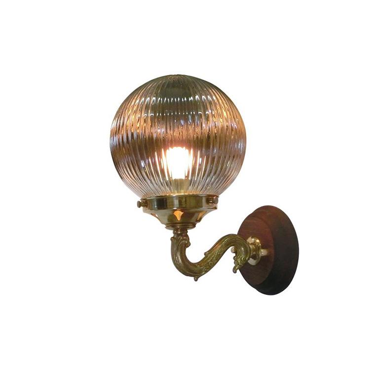 【送料無料】ウォールランプ 1灯 FC-WW842G 312 FC-WW842A【間接照明 照明 照明器具 ブラケットライト ウォールライト 壁掛け照明 壁 E17 led 対応 内玄関 階段 廊下 寝室 ガラス アンティーク レトロ 北欧 おしゃれ かわいい インテリア 引越し