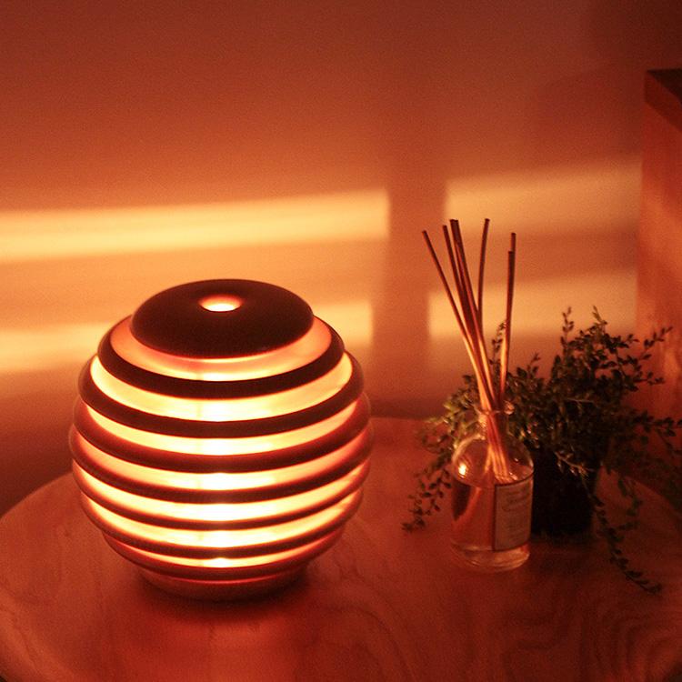照明作家 谷俊幸 モコロ ランプ[MOCORO LAMP]1灯 フロアライト|テーブルライト 間接照明 寝室 木製 リビング用 居間用 和室 フロアスタンド フロアランプ テーブルランプ 照明器具 スタンドライト 電気 ベッドルーム ベッドサイド プレゼント 誕生日 クリスマス テレワーク