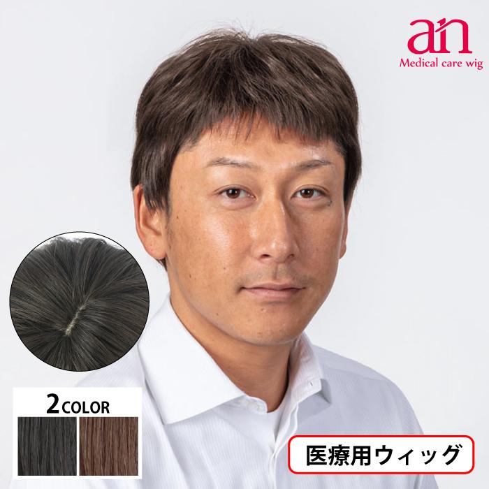 男性用ウィッグ フルウィッグ かつら ストレート 人工皮膚 手植え 軽量 自然 通気性 男性 ショート an メンズNO16 wig-st-66