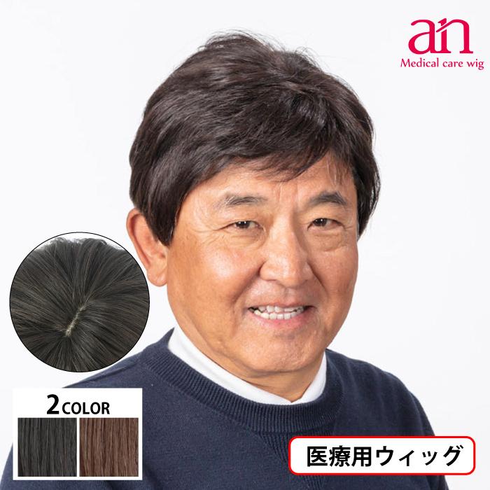 男性用ウィッグ フルウィッグ かつら ストレート 人工皮膚 手植え 軽量 自然 通気性 男性 ショート an メンズNO12 wig-st-62