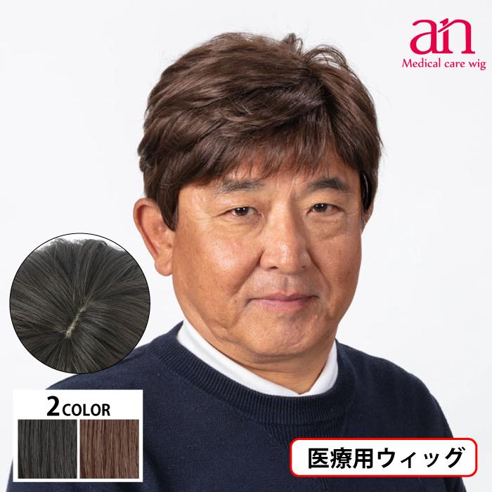 男性用 ウィッグ フルウィッグ かつら ストレート 優先配送 人工皮膚 手植え 軽量 自然 男性 an ショート 通気性 高品質 メンズNO13 wig-st-63
