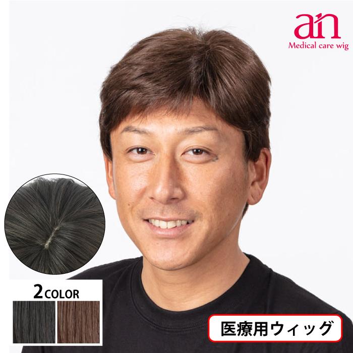 男性用ウィッグ フルウィッグ かつら ストレート 人工皮膚 手植え 軽量 自然 通気性 男性 ショート an メンズNO17 wig-st-67