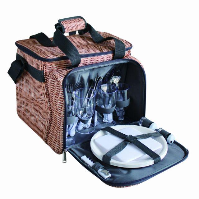バカンス パニエ VACANCES PANIER クーラー 食器付ピクニックバスケット♪ ピクニック キャンプ アウトドア BBQ バーベキュー レジャー