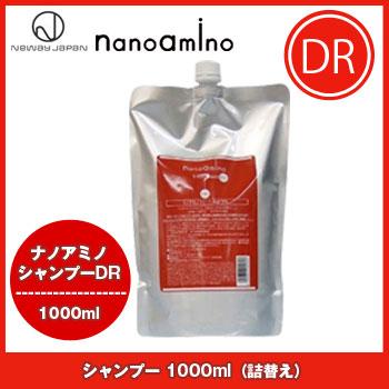 뉴 웨이 재팬 나노 아미노 샴푸 DR 1000ml 리필/탄력 코시 졸졸 모발 손상 케어 아미노산 newway japan nanoamino