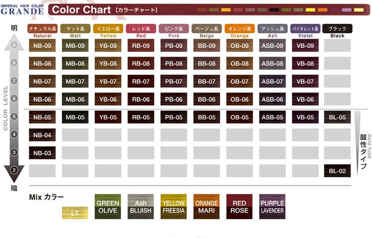 供派更帝国的毛发染料Grande VB-09 100g/紫色派毛发染料染白头发1液毛发染料专业专用的业务使用的paimoreπmore imperial grande