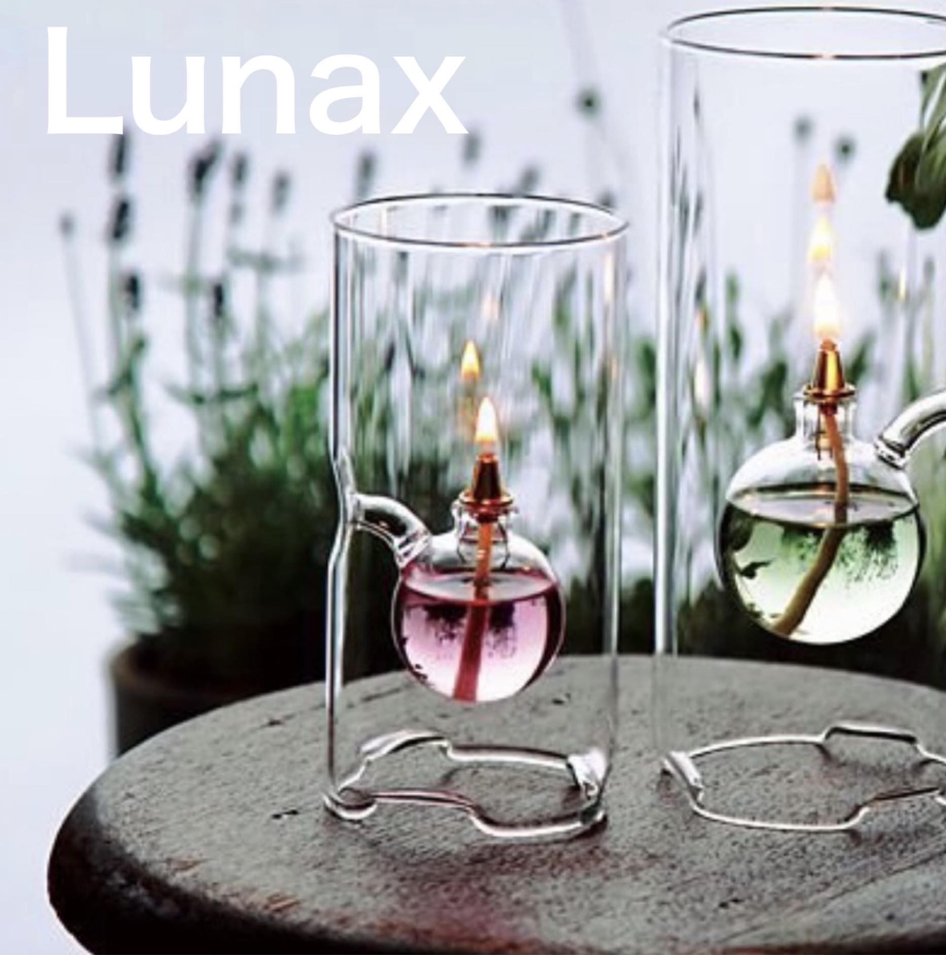 Lunax OLC-01 新発売 オイルランプ ガラスランプ ルナックス 在庫処分 クリアランプ 店内装飾 間接照明 インテリア照明 パーティー テーブルウェア