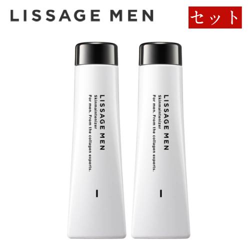 送料無料 カネボウ kanebo リサージ メン lissage men [ セット ] スキンメインテナイザー 1R レフィル みずみずしいしっとりタイプ / リサージメン メンズ 化粧水 メンズ化粧品 コスメ スキンケア おすすめ ギフト メンズギフト