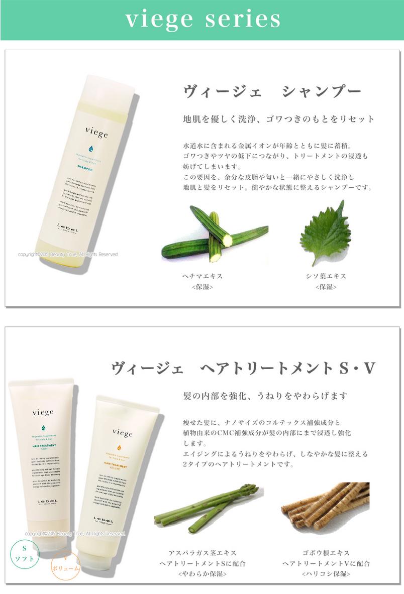 Rubelles Virge shampoo 600 ml (lebel viege) bigger curly Frizz fabrics up volumes basal rising vegetable anti-aging 05P23Aug15