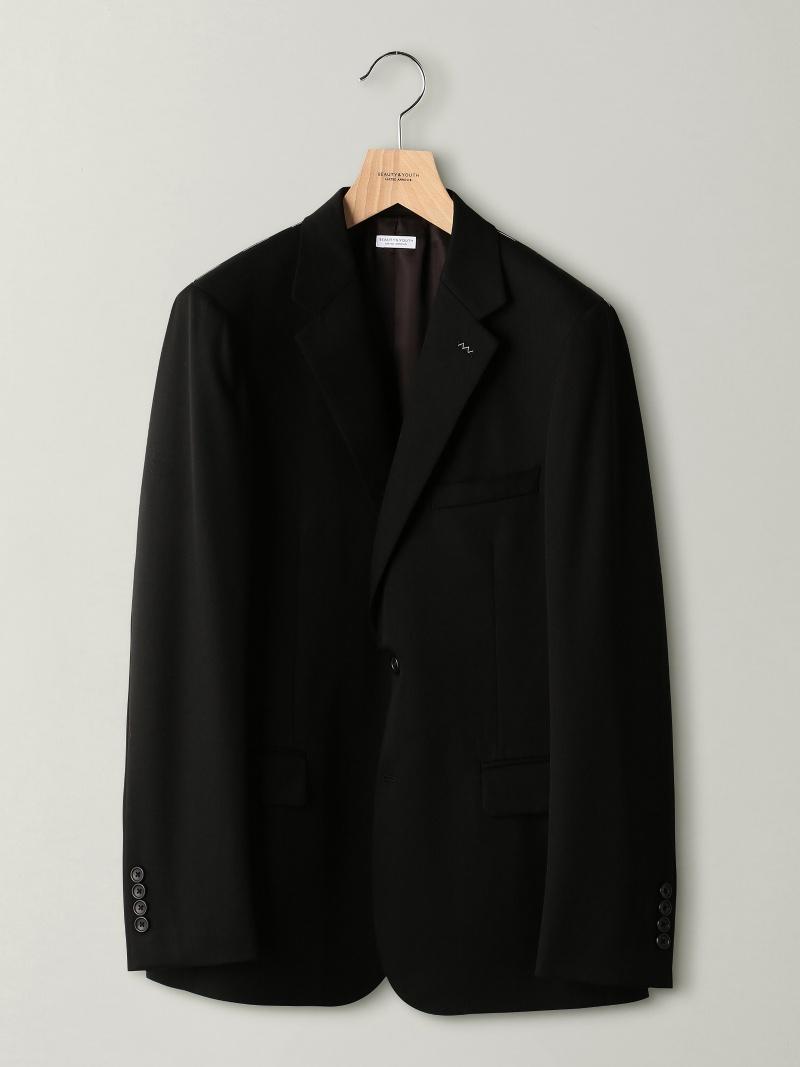 [Rakuten BRAND AVENUE]BY Dress ブラック 2B ジャケット-Tiny BEAUTY & YOUTH UNITED ARROWS ビューティ&ユース ユナイテッドアローズ ビジネス/フォーマル【送料無料】