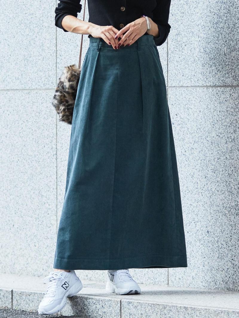 [Rakuten BRAND AVENUE]【予約】BY コーデュロイマキシスカート BEAUTY & YOUTH UNITED ARROWS ビューティ&ユース ユナイテッドアローズ スカート【送料無料】