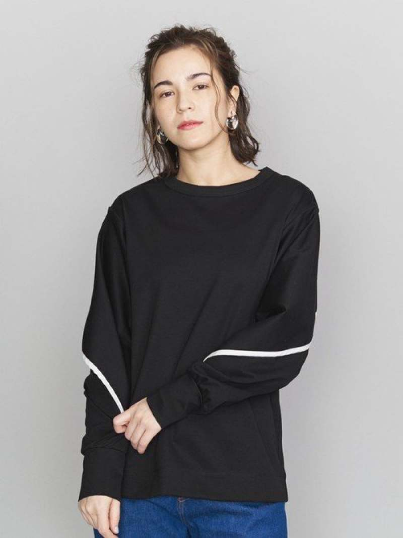 [Rakuten Fashion]<J.C.M>バットウィングプルオーバー BEAUTY & YOUTH UNITED ARROWS ビューティ&ユース ユナイテッドアローズ カットソー Tシャツ ブラック ホワイト【送料無料】