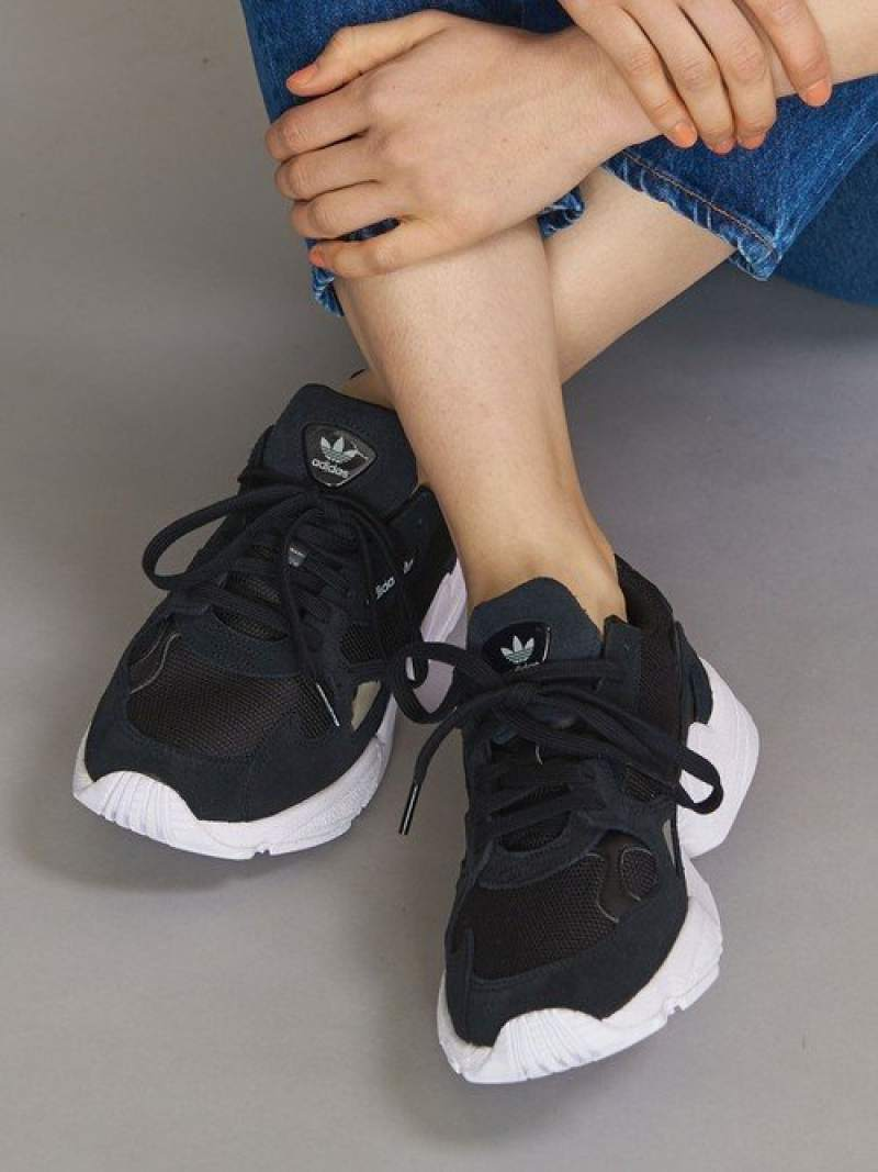 [Rakuten Fashion]<adidasOriginals(アディダス)>FALCONファルコンスニーカー BEAUTY & YOUTH UNITED ARROWS ビューティ&ユース ユナイテッドアローズ シューズ スニーカー/スリッポン ブラック ホワイト【送料無料】