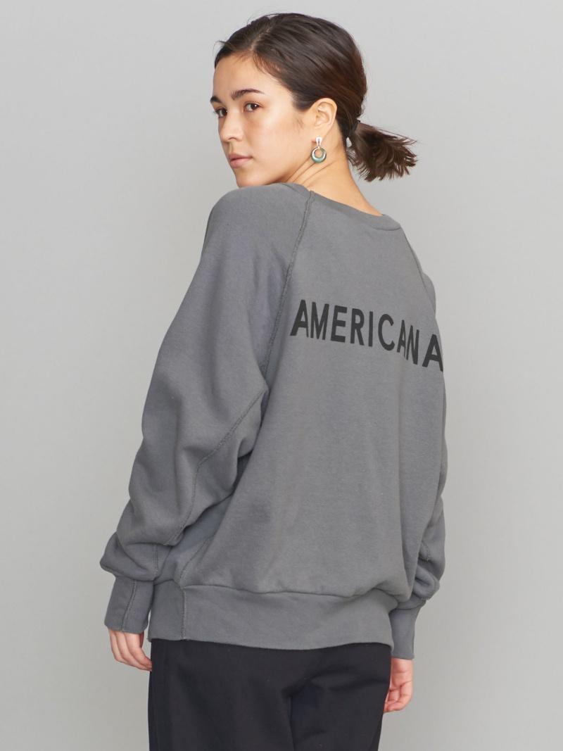 [Rakuten BRAND AVENUE]<Americana(アメリカーナ)>バックロゴスウェット: BEAUTY & YOUTH UNITED ARROWS ビューティ&ユース ユナイテッドアローズ カットソー【送料無料】