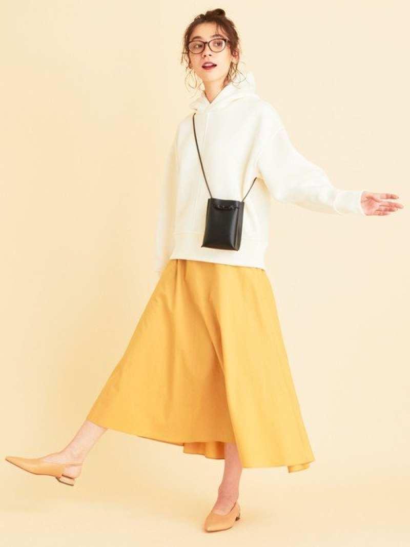 [Rakuten Fashion]BY∴タイプライターライナーボリュームフレアスカート-ウォッシャブル- BEAUTY & YOUTH UNITED ARROWS ビューティ&ユース ユナイテッドアローズ スカート スカートその他 オレンジ【送料無料】