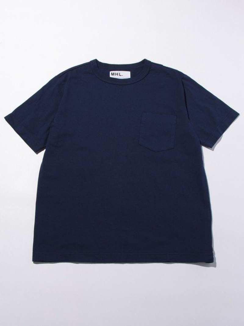 [Rakuten Fashion]【別注】<MHL.>MARIN1POCT/Tシャツ BEAUTY & YOUTH UNITED ARROWS ビューティ&ユース ユナイテッドアローズ カットソー Tシャツ ネイビー ホワイト【送料無料】