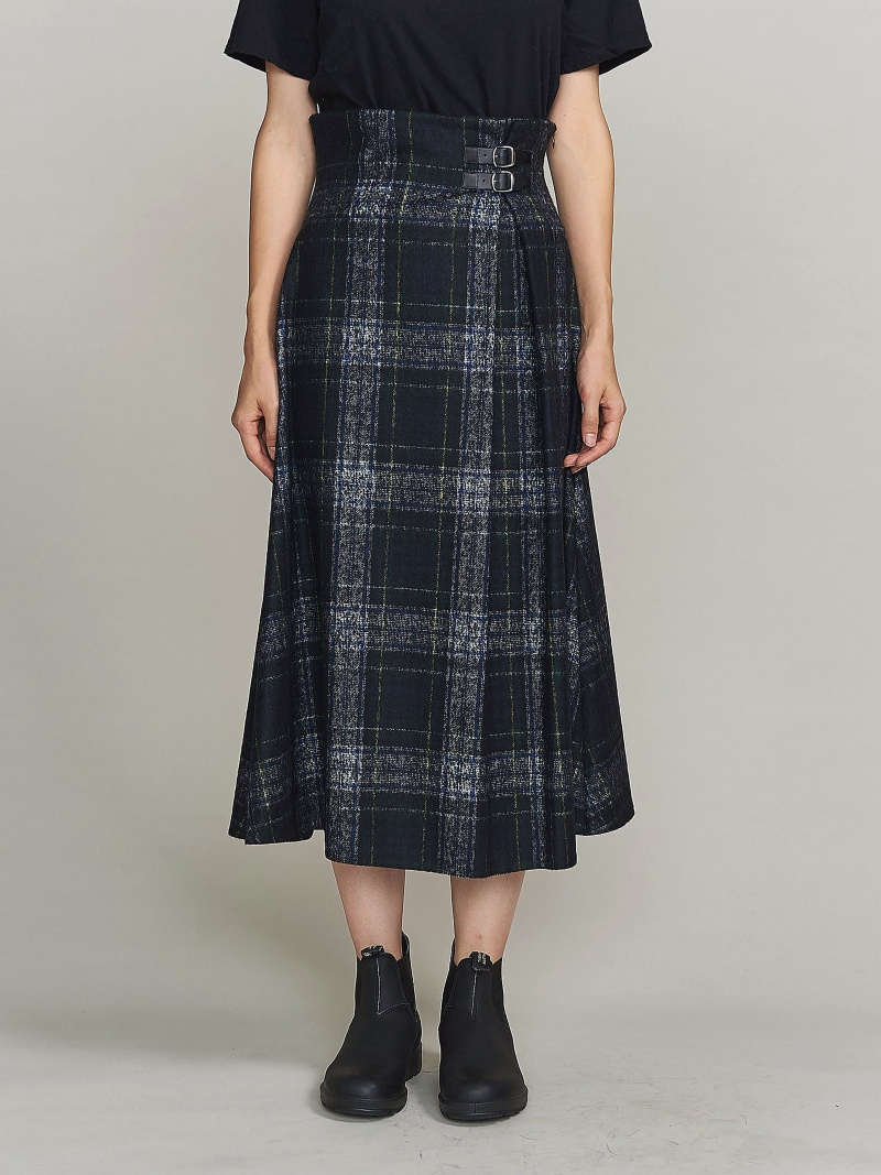 [Rakuten BRAND AVENUE]<O'NEIL of DUBLIN>バックルスカート: BEAUTY & YOUTH UNITED ARROWS ビューティ&ユース ユナイテッドアローズ スカート【送料無料】