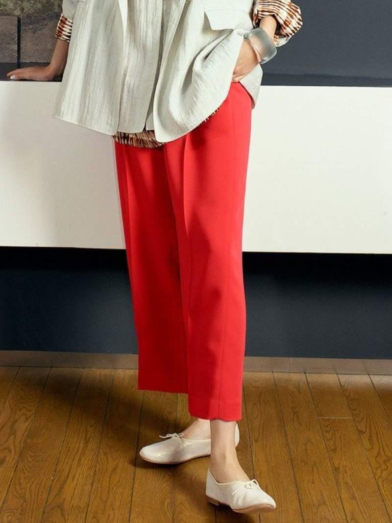 [Rakuten Fashion]【SALE/15%OFF】BYダブルクロスストレートワイドパンツ BEAUTY & YOUTH UNITED ARROWS ビューティ&ユース ユナイテッドアローズ パンツ/ジーンズ フルレングス ピンク ホワイト ネイビー【RBA_E】【送料無料】