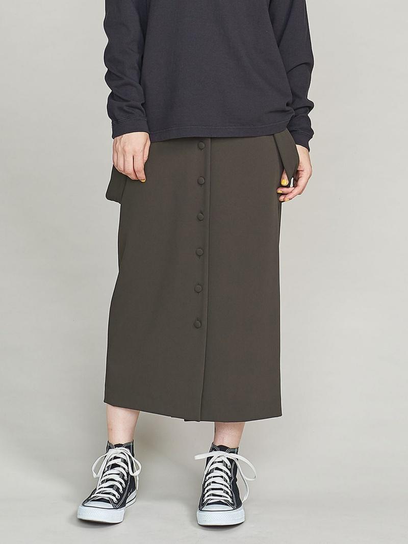 [Rakuten BRAND AVENUE]BY サスペンダータイトスカート BEAUTY & YOUTH UNITED ARROWS ビューティ&ユース ユナイテッドアローズ スカート【送料無料】