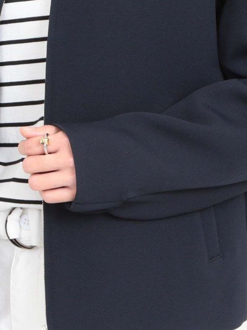 FashionSALE 30 OFF予約 BY バックボリュームショートブルゾン BEAUTYYOUTH UNITED ARROWS ビューティ ユース ユナイテッドアローズ コート ジャケット ブルゾン ホワイト ネイビー RBA E送料無料xeQrBodCW