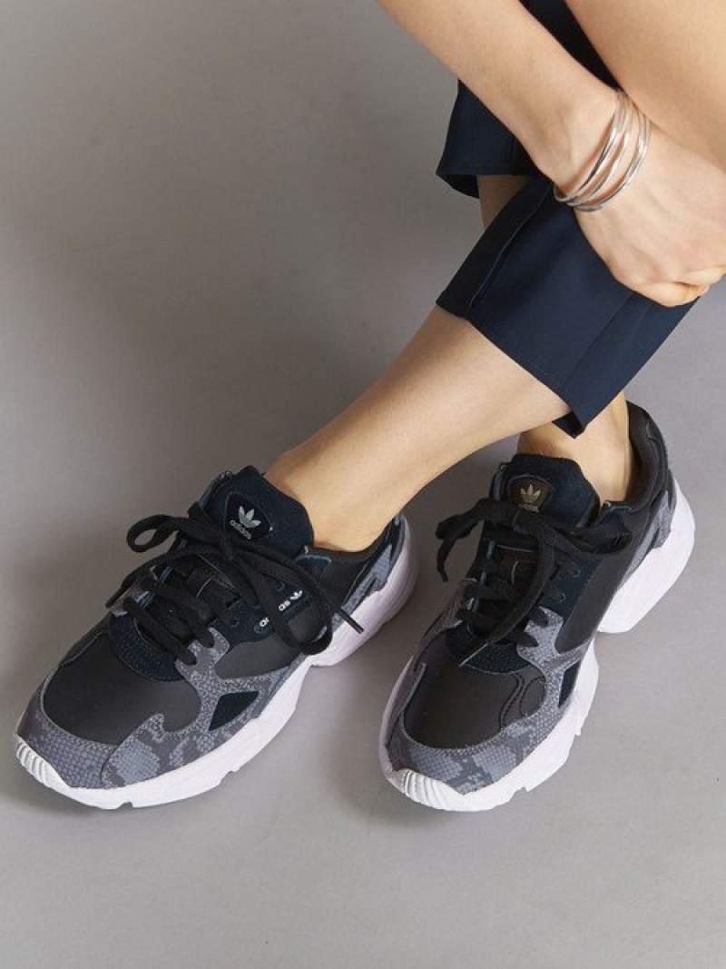 [Rakuten Fashion]<adidasOriginals(アディダス)>FALCONレザースニーカー BEAUTY & YOUTH UNITED ARROWS ビューティ&ユース ユナイテッドアローズ シューズ スニーカー/スリッポン ブラック【送料無料】