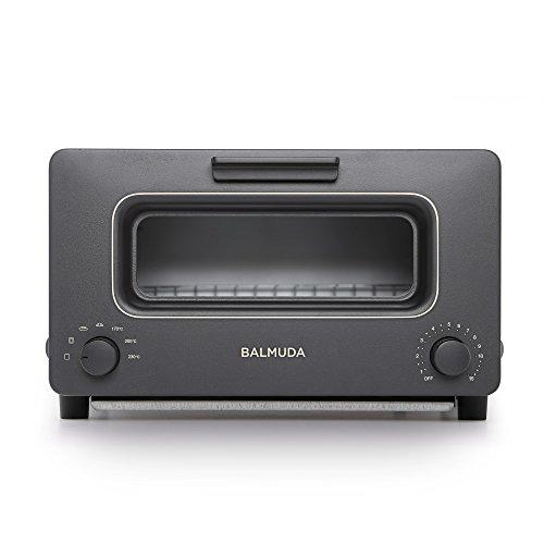 買物 バルミューダ スチームオーブントースター BALMUDA The K01E-KG ブラック Toaster 結婚祝い