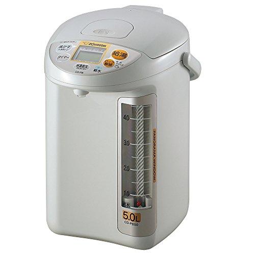 象印 電気ポット 即納 5.0L 人気商品 グレー CD-PB50-HA