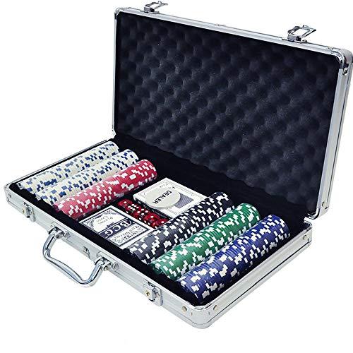 iimono117 値下げ ポーカーセット 買取 チップ300枚 アルミケース入り 本格派 カジノゲーム ホームパーテ 大人用 ポーカー テーブルゲーム ゲーム