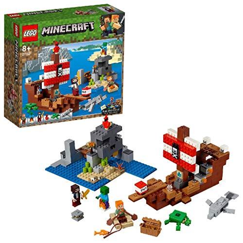 贈答 卓越 レゴ LEGO マインクラフト 海賊船の冒険 おもちゃ ブロック 21152 男の子