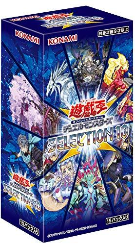 新商品!新型 コナミデジタルエンタテインメント 遊戯王OCG デュエルモンスターズ SELECTION 10 高品質 CG1711 BOX