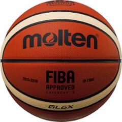 【モルテン】 GL6X 公式試合球 バスケットボール 6号球 [カラー:オレンジ×アイボリー] #BGL6X 【スポーツ・アウトドア:バスケットボール:ボール】