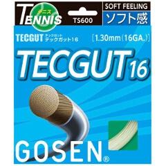 【ゴーセン】 TECGUT(テックガット) テックガット16(20張入) [カラー:ホワイト] #TS600W20P 【スポーツ・アウトドア:スポーツ・アウトドア雑貨】